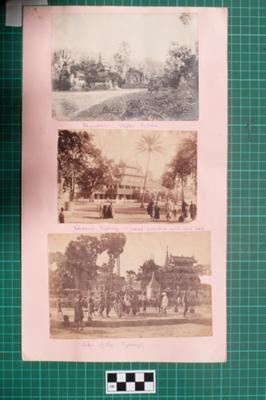 Photograph-Album Page - Laughton Burmese Photographs; Gwenda Elizabeth Donaldson, Arthur Frederick Laughton; 1856; 6.5.1