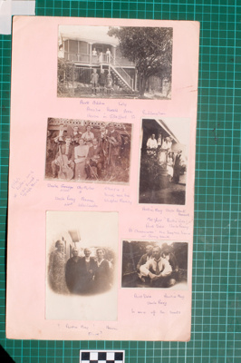 Photograph-Album Page - Mitchell Family Photographs; Gwenda Elizabeth Donaldson; 6.6.1