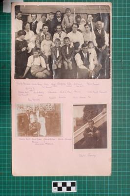 Photograph-Album Page - Mitchell Family Portraits; Gwenda Elizabeth Donaldson; c. 1919; 6.1.2