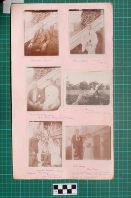 Photograph-Album Page - Mitchell Family Portraits; Gwenda Elizabeth Donaldson; after 1914; 6.1.1
