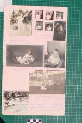 Photograph-Album Page - Laughton Family Photographs; Gwenda Elizabeth Donaldson; 6.13.2