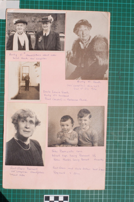 Photograph-Album Page - Laughton Family Photographs; Gwenda Elizabeth Donaldson; 6.15.2