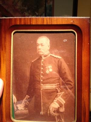 Portrait of AF Laughton; 1880-1900; 3