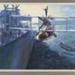 HMAS Albatross hoisting her Seagull III; David Marshall; 1992; 40414