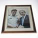 Photograph - Lieutenant M Bradley and USA President G.W Bush; Unknown; c2000s; 41228