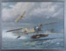 Arthur Longmore, Short 521, first airbourne torpedo launch. c1914; David Marshall; 2008; 40729