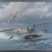 Arthur Longmore, Short 521, first airbourne torpedo launch. c1914; David Marshall; 2008; 40729
