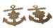 Two Japanese Admiral's insignia; Unknown; C1940; 40688