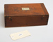 Wooden WWII Japanese box (empty); 1940's; 41074