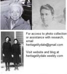 Franklin girls in Salvation Army uniforms; Dorothea Gibbins; HL:2015:DP:154