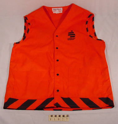 Safety Vest; Designer Workwear; T-1027-0