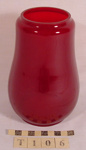 BARRIER LAMP GLASS; T-106-0