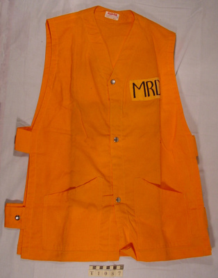 Safety Jacket; Halco Overalls; 1969-1975; T-1087-0