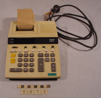 ADDING MACHINE; Canon Inc.; T-573-0