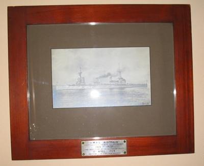 Photograph; HMAS AUSTRALIA (I); 1924; NAVY-28-0