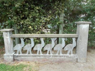 "One of two decorative Gate Panels ""Emu"" - Left side; Antonio Perez; 1960; 2014.04.011"