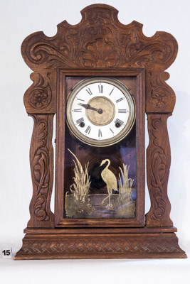 Carved Wooden Wall Clock; Ansonia; 2005.03.271