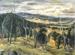 New England landscape; Margaret Olley; 1947