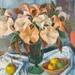 (Pink Daturas); Margaret Olley; 1964