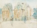 Place du Pont Neuf, Paris II ; Margaret Olley; 1951