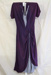 Dress, Purple crepe; Unknown; 000/023c