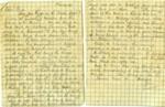 Letter; James Saunders; 1919; 000/196r