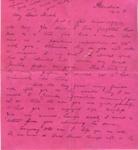 Letter; Earl Barnes; 19 November 1918; 000/196