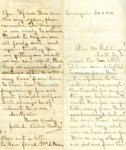 Letter; Cicilie Yoshpe; 30 January 1919; 000/196r