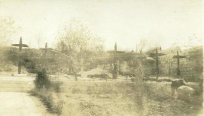 "Photograph: ""German Airmen's Graves""; 1918; 018/004j"