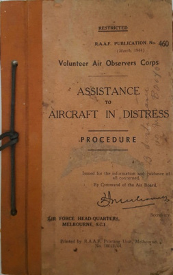 Assistance to Aircraft in Distress; 000/621