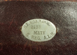 Diary, WW 1; H F  (Fred) Hutchings; 1916; 000/196