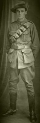 Photograph, Trooper Herbert Frederick Hutchings; 1915