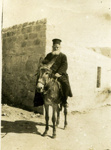 "Photograph: ""Greek Monk, Jericho""; c. 1917; 018/004m"