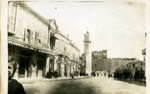 "Photograph: ""Clocktower Over Jaffa Gate, Jerusalem""; c. 1917; 018/004n"