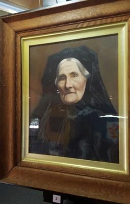 Portrait, Mary Cooper; 004/008b