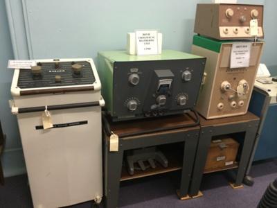 Diathermy machines 19945-1960; 10
