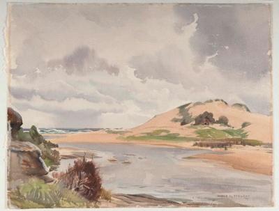 The Lagoon; Ronald Hewison STEUART, 1898-1988; 1933; 1933_7