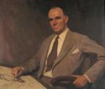 Portrait of Ted Scorfield; H.A. HANKE, 1901-1989; 1947; 1948_27