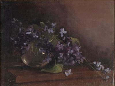Violets; Elioth GRUNER, 1882-1939; 1916; 1939_71