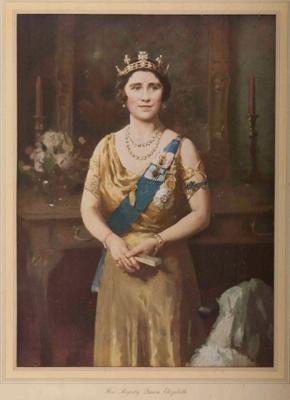 Her Majesty Queen Elizabeth; W.B. McINNES, 1889-1939; n.d.; 1938_100