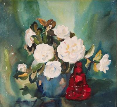 Camellias; Margaret COEN, 1910-1998; 1944; 1944_48
