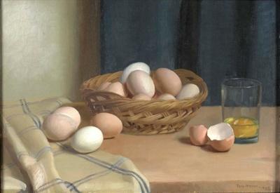 Eggs; Nora HEYSEN, 1911-2003; 1927; 1934_36