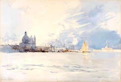 Guidecca Lagoon; Arthur STREETON, 1867-1943; 1908; 1937_40