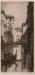 Street in Venice; Cyril H. BARRAUD, 1877-1965; n.d.; 1938_58