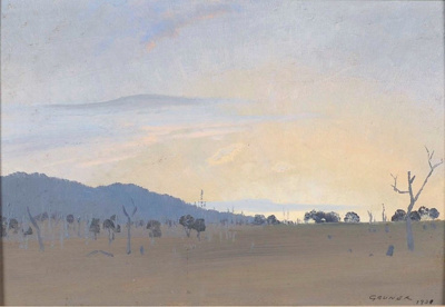 Sunrise, Yass; Elioth GRUNER, 1882-1939; 1931; 1939_127