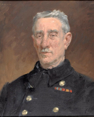 A Chelsea Pensioner; Roy ROUSEL, 1897-1989; 1936; 1941_33