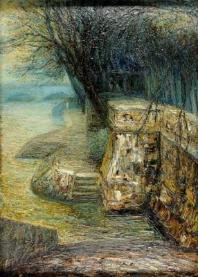 By the Seine; Eric WILSON, 1911-1947; n.d.; 1945_42