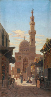 A Mosque in Cairo; Edward MILLS, 1876-1918; n.d.; 1944_14