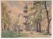 Temple Gardens; Daryl LINDSAY, 1889-1976; (1941); 1941_16