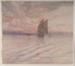 Sunrise in the Moluccas; Adolf Gustav PLATE, 1874-1914; n.d.; 1933_20